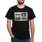 1951 Pontchartrain Beach Ad Black T-Shirt