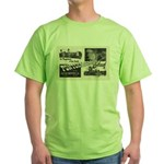 1951 Pontchartrain Beach Ad Green T-Shirt
