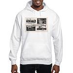 1951 Pontchartrain Beach Ad Hooded Sweatshirt