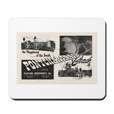 1951 Pontchartrain Beach Ad Mousepad
