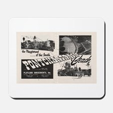 1951 Pontchartrain Beach Ad Mousepad