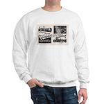 1951 Pontchartrain Beach Ad Sweatshirt