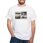 1951 Pontchartrain Beach Ad White T-Shirt
