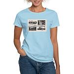 1951 Pontchartrain Beach Ad Women's Pink T-Shirt