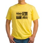 1951 Pontchartrain Beach Ad Yellow T-Shirt