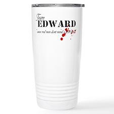 Team Edward Travel Mug