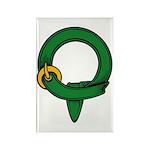 Apprentice belt Rectangle Magnet (10 pack)