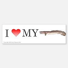 Polypterus ornatipinnis Bumper Bumper Bumper Sticker