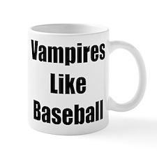 """Vampires Like Baseball"" Mug"