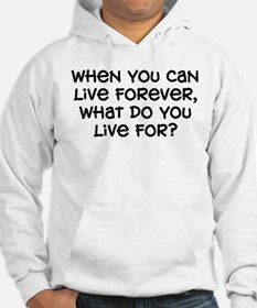 """""""What Do You Live For"""" Hoodie"""