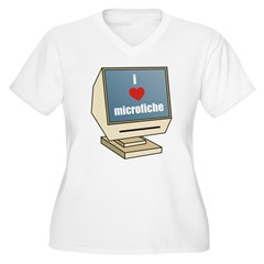 I Love Microfiche T-Shirt
