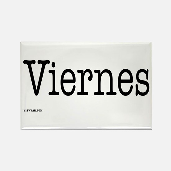 Viernes - On a Rectangle Magnet