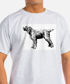 Spinone Italiano Ash Grey T-Shirt