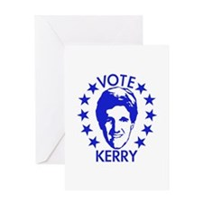 Vote Kerry Greeting Card