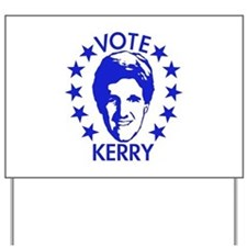 Vote Kerry Yard Sign