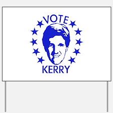 Vote Kerry Yard Sign
