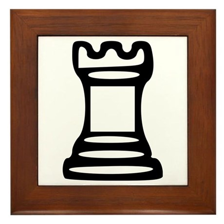 Chess - Castle Framed Tile