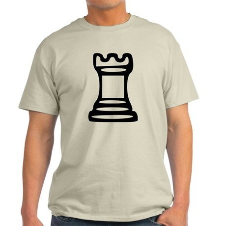 Chess - Castle Light T-Shirt
