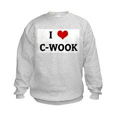 I Love C-WOOK Sweatshirt