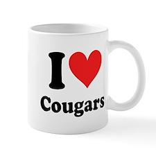 I Heart Cougars: Mug