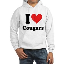 I Heart Cougars: Hoodie