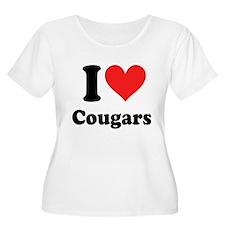 I Heart Cougars: T-Shirt