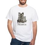 Vintage France White T-Shirt