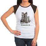 Vintage France Women's Cap Sleeve T-Shirt