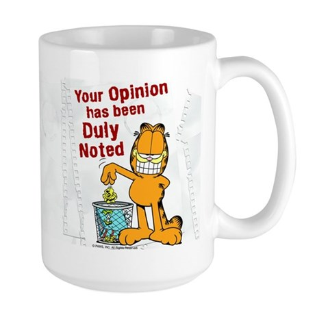 Duly Noted Large Mug
