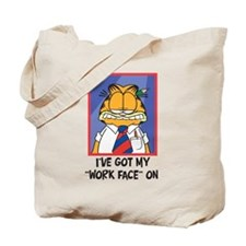 Work Face Tote Bag