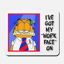 Work Face Mousepad