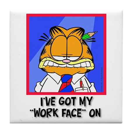 Work Face Tile Coaster