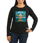 Then Panic Women's Long Sleeve Dark T-Shirt