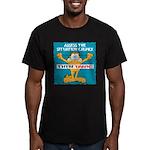 Then Panic Men's Fitted T-Shirt (dark)