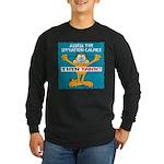 Then Panic Long Sleeve Dark T-Shirt