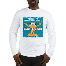 Then Panic Long Sleeve T-Shirt