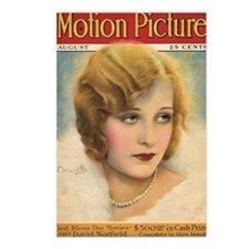 Dolores Costello 1927 Postcards (Package of 8)