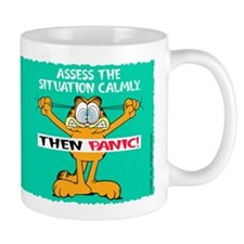 Then Panic Small Mugs