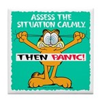 Then Panic Tile Coaster