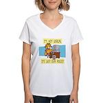 It's Not Logical Women's V-Neck T-Shirt