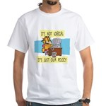 It's Not Logical White T-Shirt
