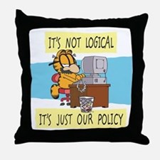 It's Not Logical Throw Pillow