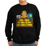 Waste My Time Sweatshirt (dark)