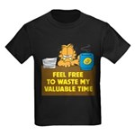 Waste My Time Kids Dark T-Shirt
