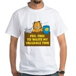 Waste My Time White T-Shirt