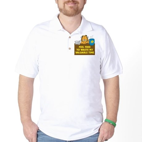 Waste My Time Golf Shirt