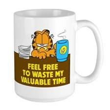 Waste My Time Mug