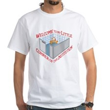 Welcome to the Institution White T-Shirt
