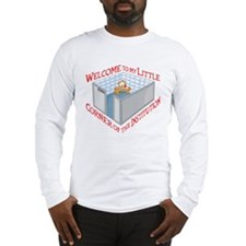 Welcome to the Institution Long Sleeve T-Shirt