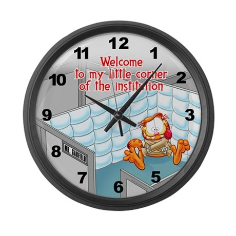 Welcome to the Institution Large Wall Clock
